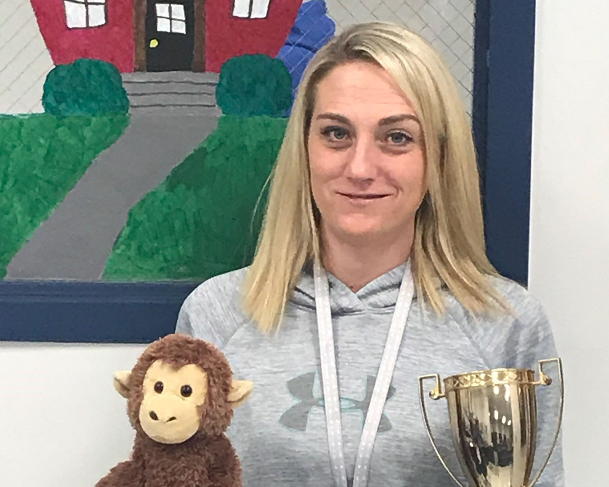 January 2018 Staff Member Of the Month