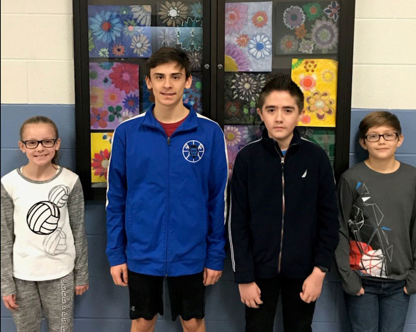 December Students Of The Month 2017