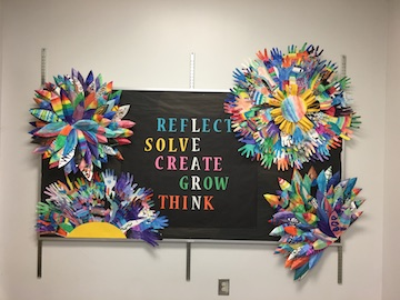 Beautiful Bulletin Board!!