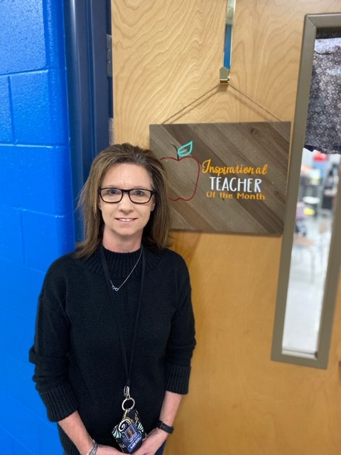 Congratulations To Ms. Miller- February Inspirational Teacher Of The Month