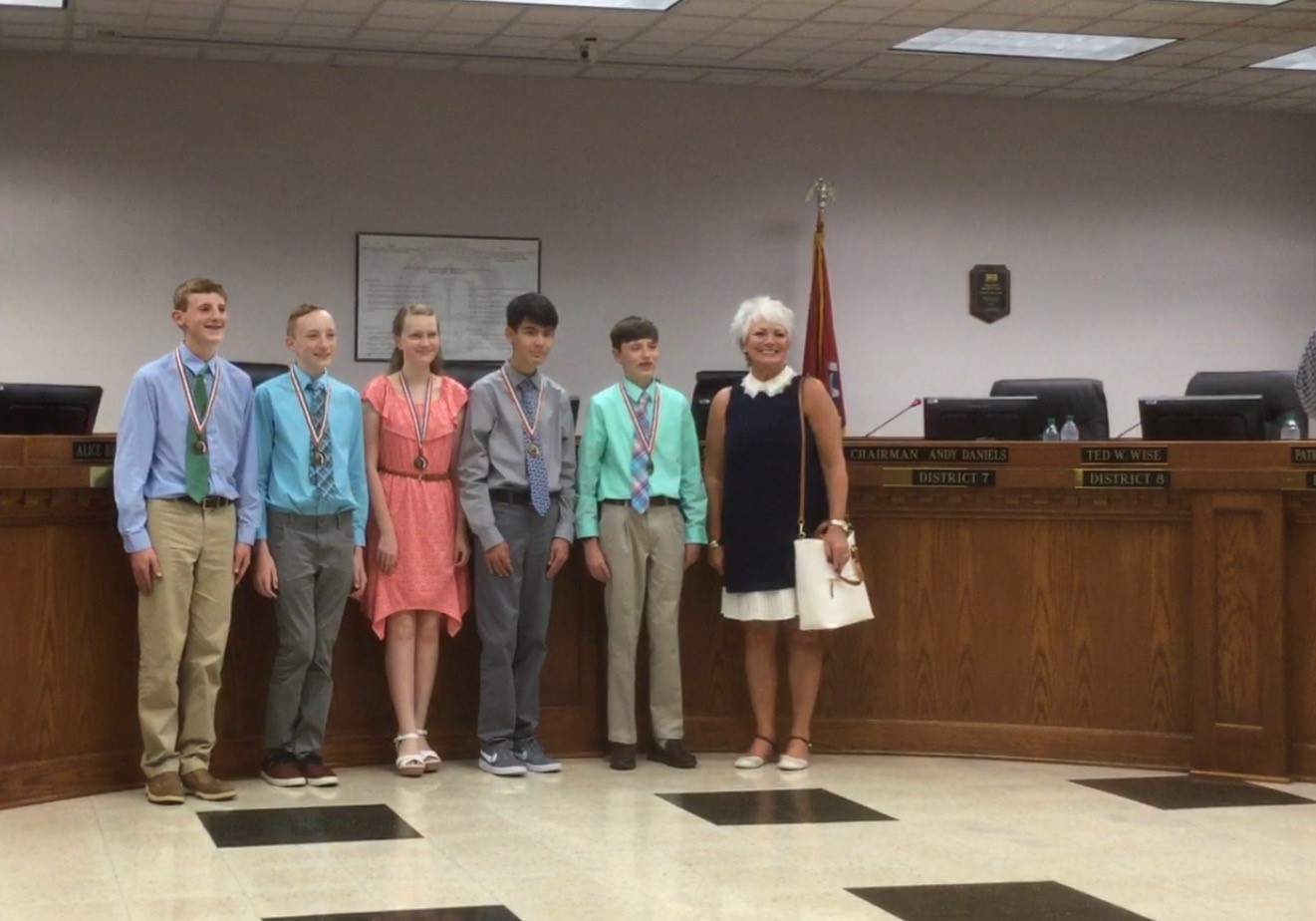 Congratulations To Our STEM-Robotics Team- Recognized At Board Meeting