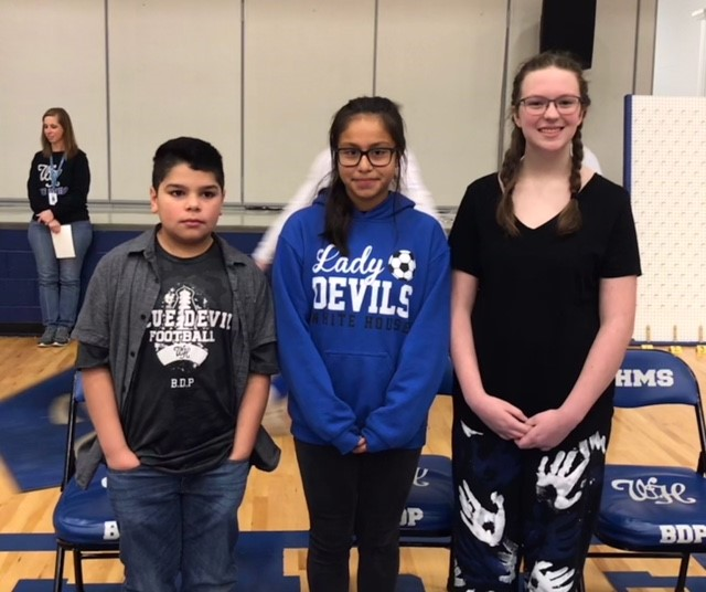 Spelling Bee Finalists and Winner