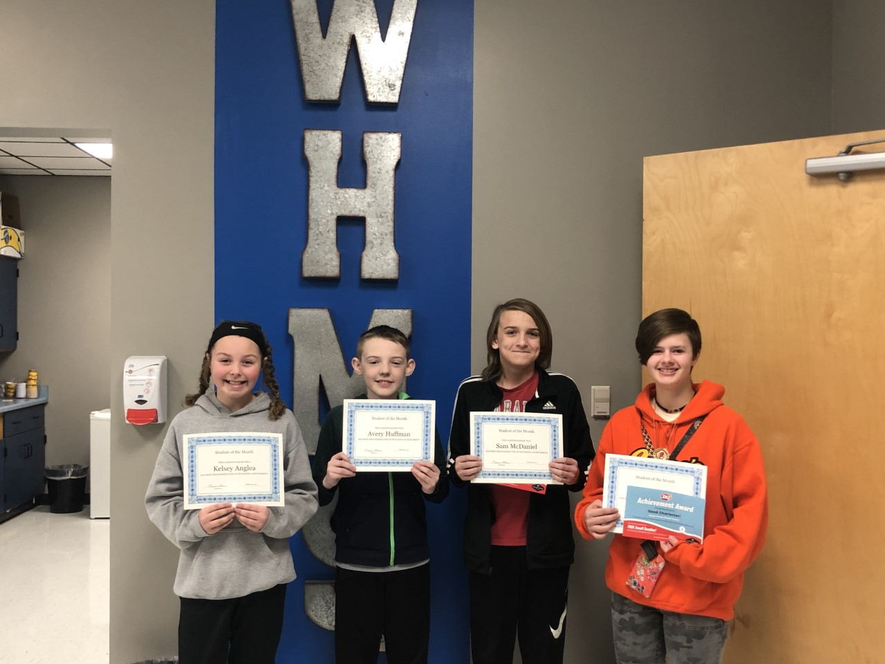February Students Of The Month-Congratulations!!