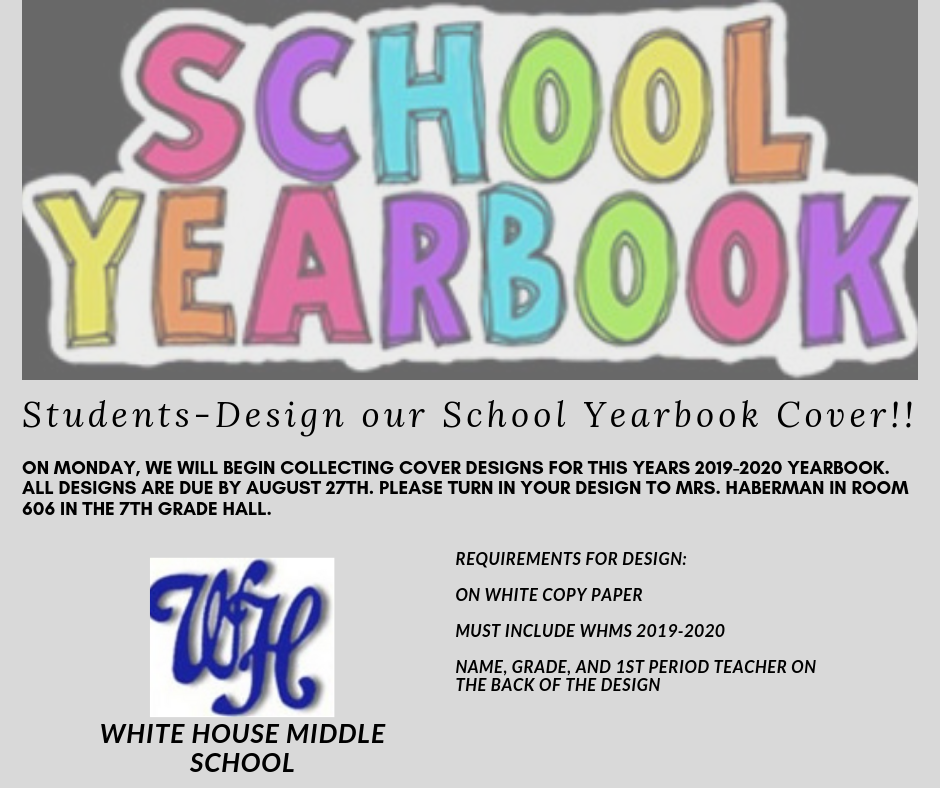 Design Our Yearbook Cover!!