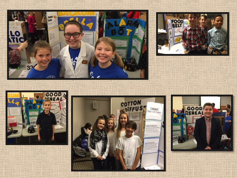 Students At Invention Convention