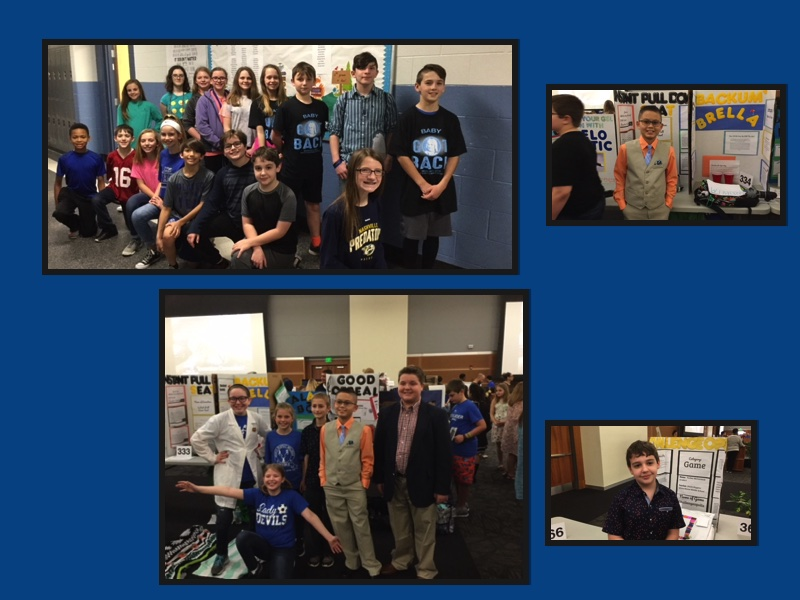 WHMS Students Participate In Invention Convention