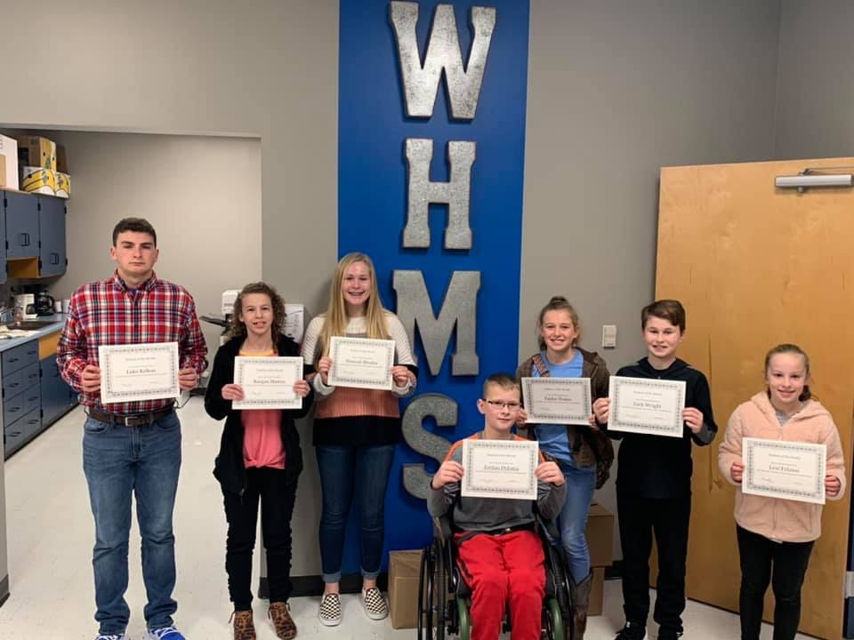 Congratulations To Our November and December Students Of The Month