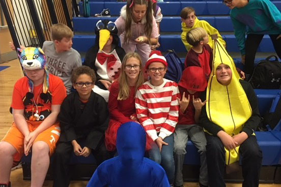Students Dress Up Halloween 2018