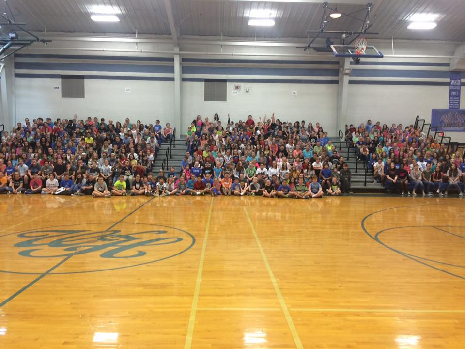 WHMS Students- Perfect Attendance for August! Great Job!!