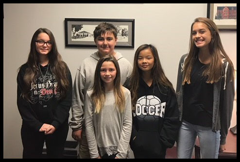 October Students Of The Month 2017