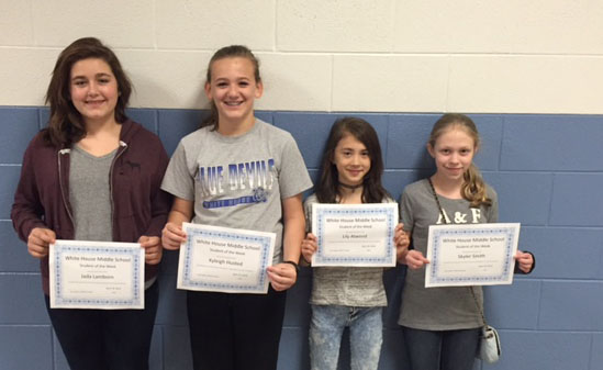 April 18th Students Of The Week