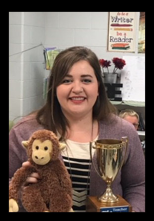 Ms. Oldham Teacher Of The Month-October 2017