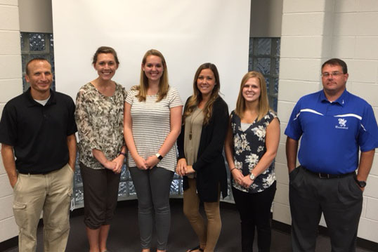 New Teachers and Staff At WHMS
